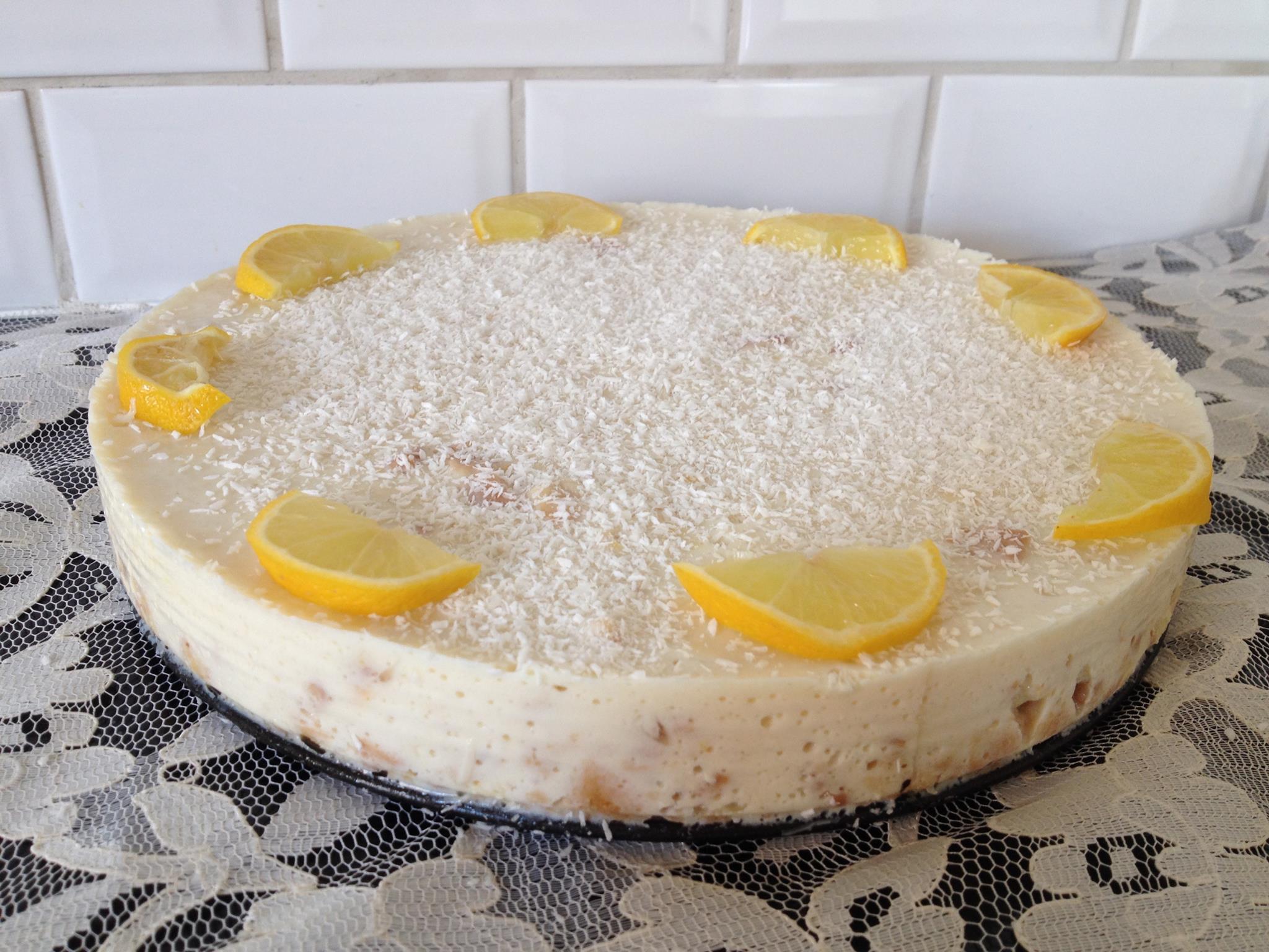 Kokos - Citroencheesecake | Julienne