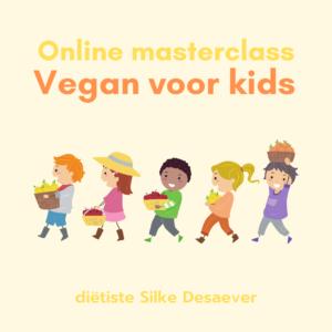 Online masterclass Vegan voor kids