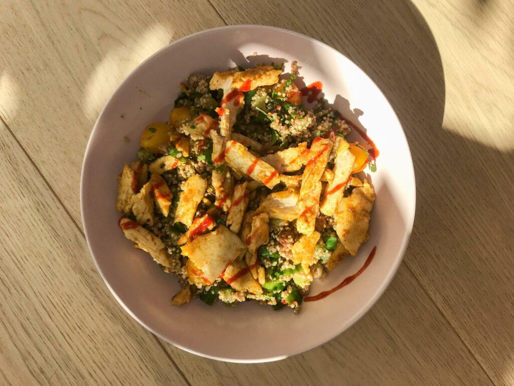 Recept - Frisse tabbouleh met groene kruiden- Silke Desaever - diëtiste & lactatiekundige - Kortrijk en online